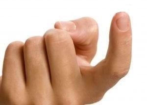 Posição do dedo