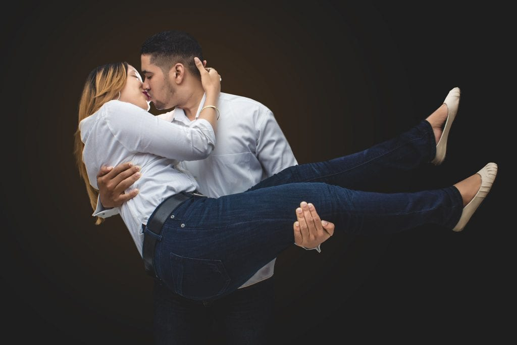 Estilo de beijo cada um tem o seu
