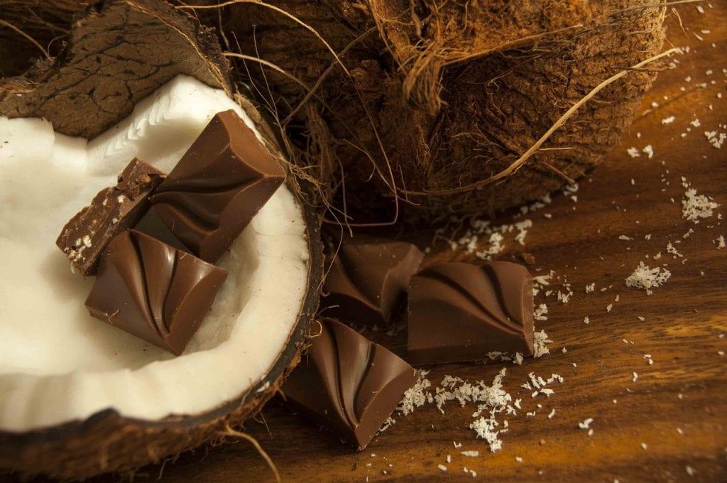 Leite de coco como lubrificante