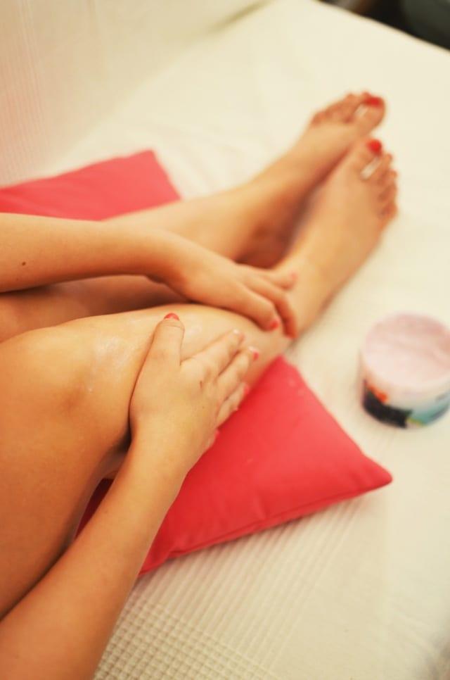 Massagem na mulher