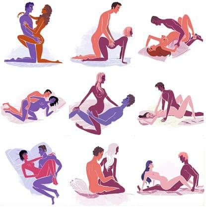 Posições para a mulher grávida