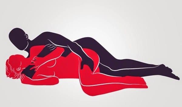 Posição sexual conchinha