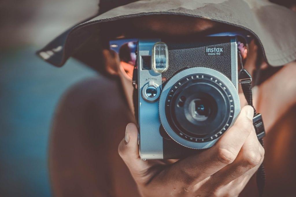 Faça filmagens