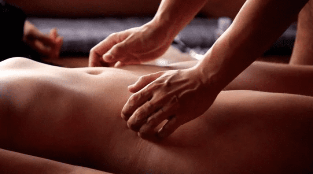 Massagem yoni