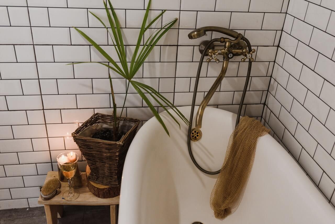 Fazer a chuca no banho